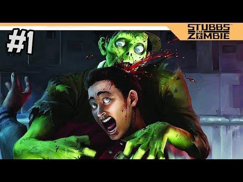 СИМУЛЯТОР ЗОМБИ - Stubbs the Zombie прохождение на русском