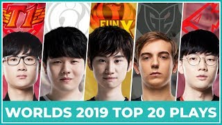 Top 20 Best Plays Worlds 2019 - Knockout Stage