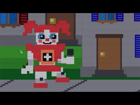 Five Nights at Baby's: a Sister Location Mod Gameplay #2