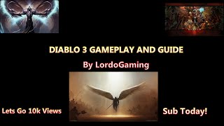 Diablo 3 level 1 to 70 with hacked gear very fast
