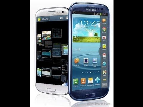 Samsung Galaxy S3 Actualizacion Android 4.1.2 Jelly Bean