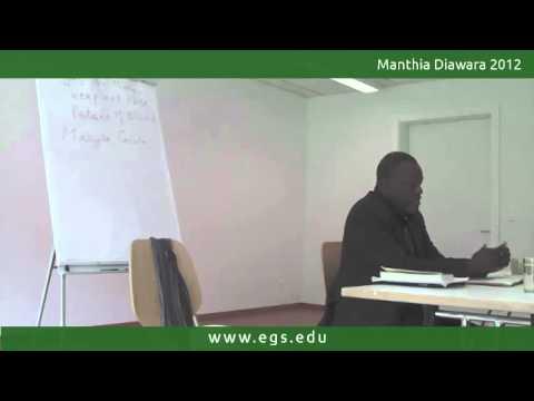 Manthia Diawara. Identity and Différance in Black Literature. 2012