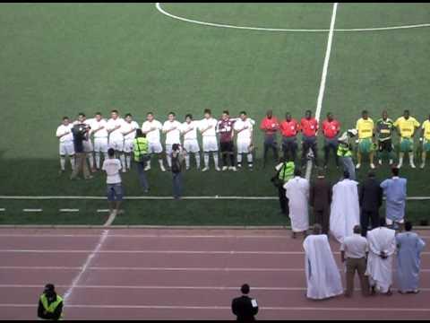 Equipe Nationale Espoir : Mauritanie - Algérie, Hymne nationale de l'Algérie