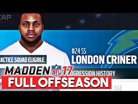 Madden 17 Franchise Mode Offseason Walkthrough - Free Agency/NFL Draft