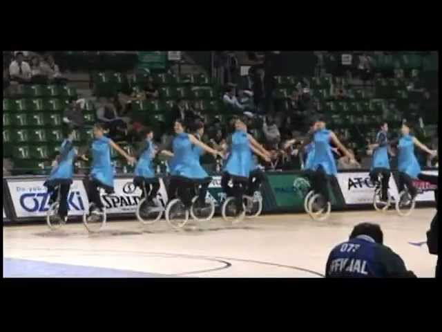 Unicycle Group Performance in Ariake colosseum