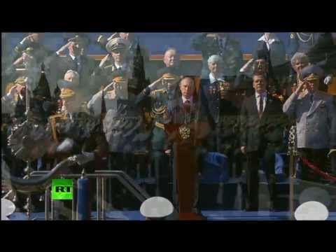 Russian Anthem 2013 Victory Day Parade