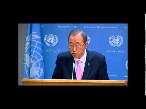 On Palestine and the ICC, Ban  Ki-moon Dodges When ICP  Asks, Israel's Prosor Answers  Another Q