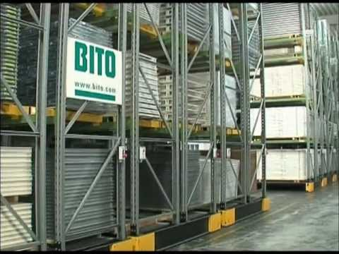 Mobile Pallet Racking - Product demonstartion video from Bito Storage Systems