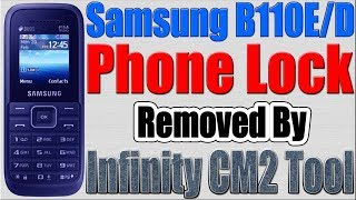 Samsung B110E Phone Lock Removed by Infinity CM2 Tool