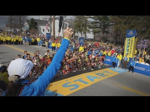 Thousands Run Boston Marathon on Anniversary of Bombing