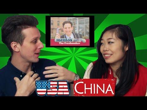 Chinese Girl vs. Retro Ads