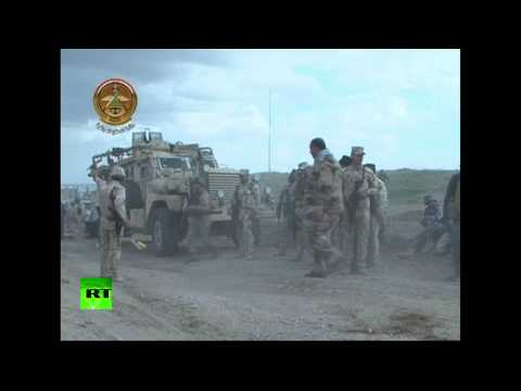 RAW: Iraqi troops clash with ISIS near Tikrit, air strikes pound Islamic State