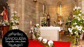Flores para Iglesia y Bodas. Decoración Iglesia Boda. Arreglos Florales para Bodas.