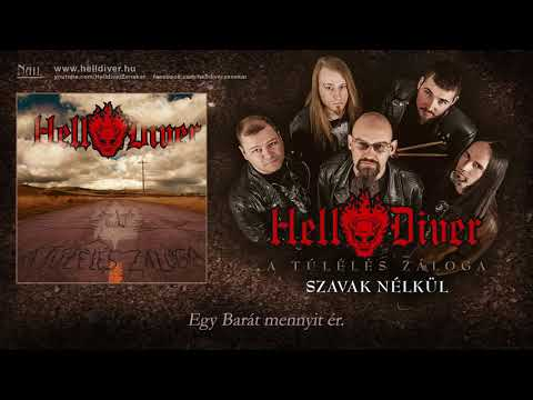 Helldiver - Szavak nélkül (Hivatalos szöveges video / Official lyrics video)