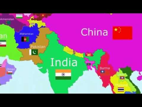 Cantecele - Tarile lumii: Asia