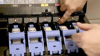How To Change Inks on an imagePROGRAF TX Printer