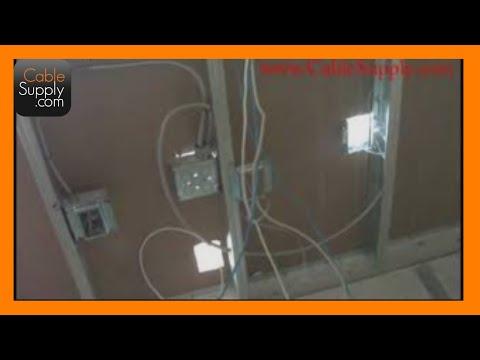 Structured Cabling Basics Part 2 Aluminum Studs Youtube