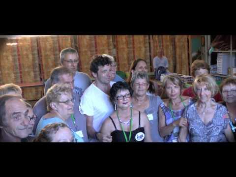 Reportage sur la semaine de préparation du concert de Patrick Bruel, le 05 Juillet 2013 au stade de Bram à Louhans. (Bande annonce, Prépa de la scène, Patric...