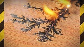 Graver la FOUDRE sur du bois ! (⚠️) - Figures de Lichtenberg - [Science 2.0]