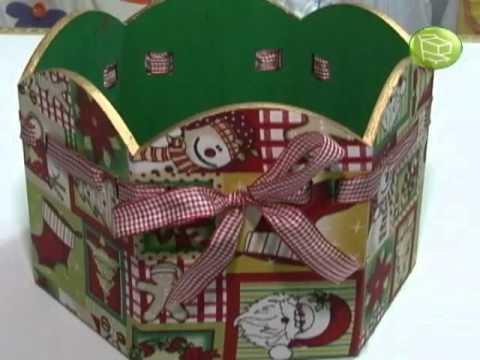 Enfeites de Natal estilizados