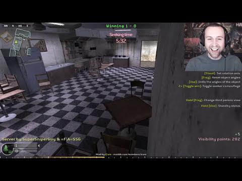 CHRISTMAS BATTLE (Call of Duty 4 Prop Hunt)