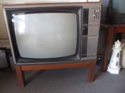 22 U0026quot  1980 U0026 39 S Philips Cr231 Vintage Television