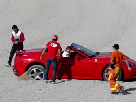 FERNANDO ALONSO FERRARI F10 DRIVER FIRST TIME WITH THE SCUDERIA