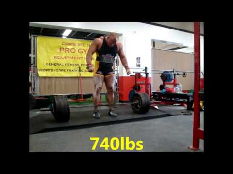 Meet Deadlift Training, Singles up to 805lbs Raw 3-16-13 Image 1