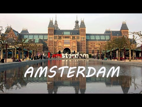 Amsterdam in Netherlands - Holland tourism - Dutch travel video