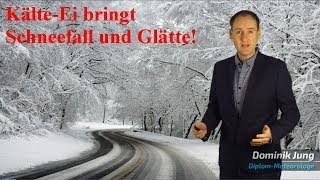 Wetter kippt KГlte-Ei bringt Deutschland starken Schneefall, Frost und GlГtte! Mod. Dominik Jung