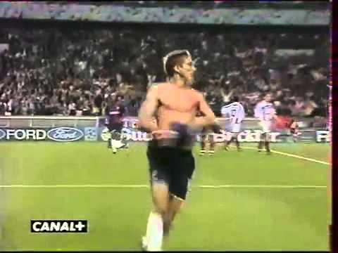 PSG 1 - 0 FC Bayern München [C1 2000/01 = But de Laurent LEROY] LEGENDAIRE