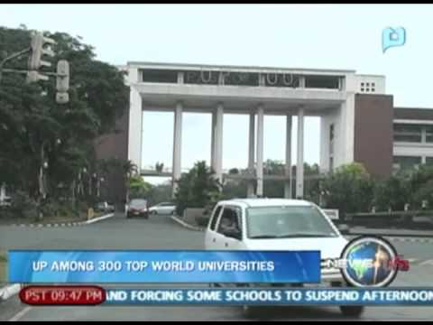 Newslife: University Of The Philippines Among 300 Top World Universities video
