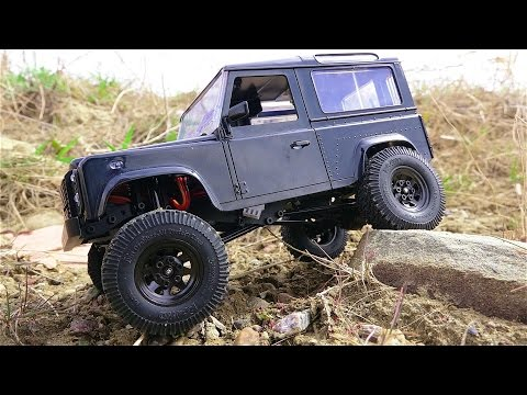 RC ADVENTURES - RTR 1/18th scale RC4WD Gelände II Land Rover D90 Defender