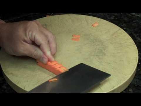 Taste of Asia @ Home Carrot Tree Garnish Advanced Cleaver Skills