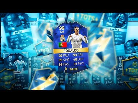 99 RONALDO IN A PACK!!!!