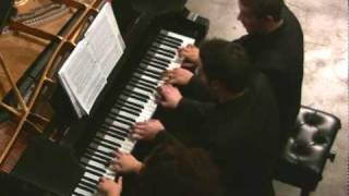 Rossini Barber of Seville Fantasie for Piano 6 hands at Classical Underground.mp4