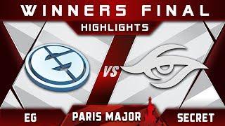 EG vs Secret [EPIC] WB Final MDL Disneyland Paris Major 2019 Highlights Dota 2