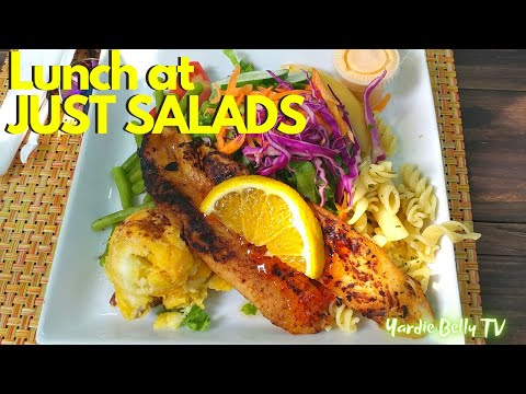 "Jamaica Vlogs: Lunch at ""Just Salad"" and More Exploring in Kingston!!"