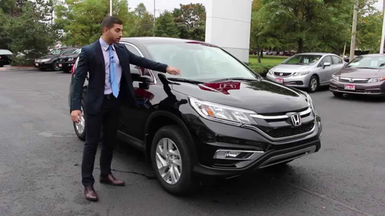 Quick Review: 2015 Honda CRV EX-L - YouTube