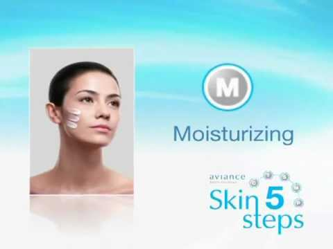 04 aviance Skin 5 Steps-moisturizing.mov video