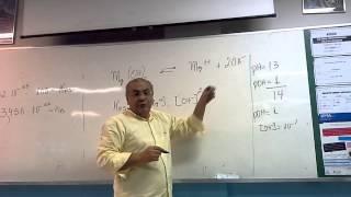 Kps  equilíbrio ionico