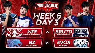 RoV Pro League Season 4 | Week 6 Day 3