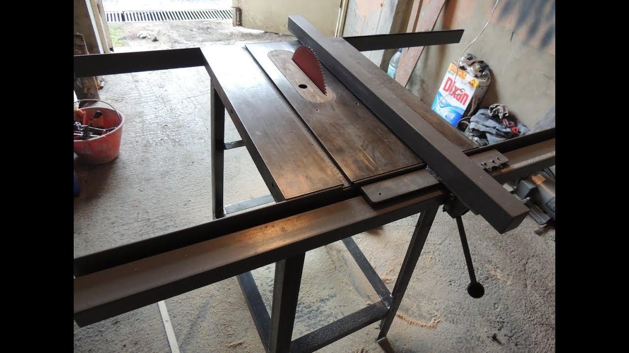 Как сделать распиловочный стол из ручной циркулярной пилы своими руками 32