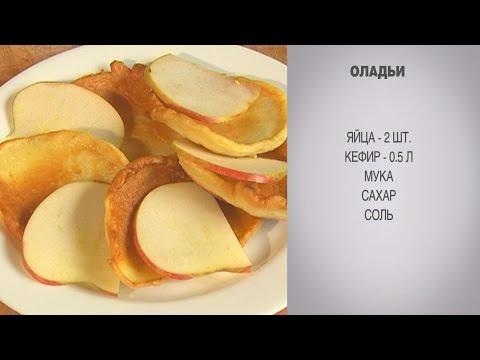 Рецепт оладьи на кефире классические