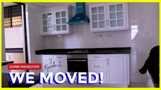 HOME MAKEOVER EP 1 | Empty House Tour (WE MOVED!) | Muthoni Gitau
