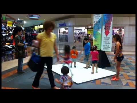 Interactive Projection @ IV Mall