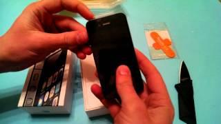 Apple Iphone 4S з Aliexpress за 118$. Посылка из Китая №156.