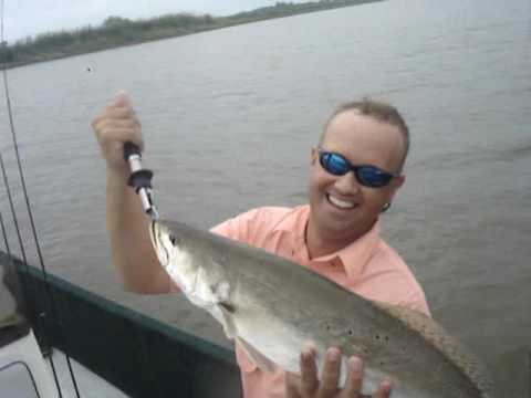 TROUT ON CALCASIEU III  7.55lb speckel trout