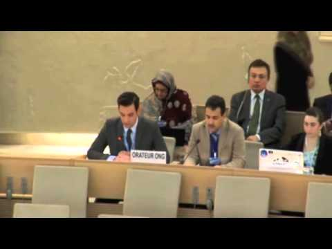 CFI Statement on Freedom of Expression on the Internet at the 28th UN Human Rights Council - 3/13/15
