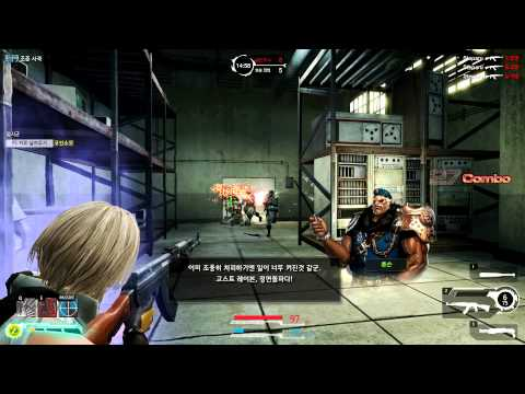 GunZ 2 Online Warehouse PvE Gameplay